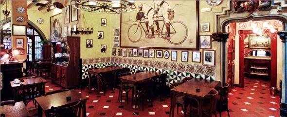 ברצלונה - קפה Els Quatre Gats