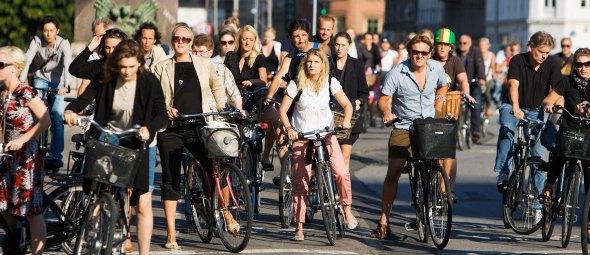 קופנהגן - גן עדן לאופניים